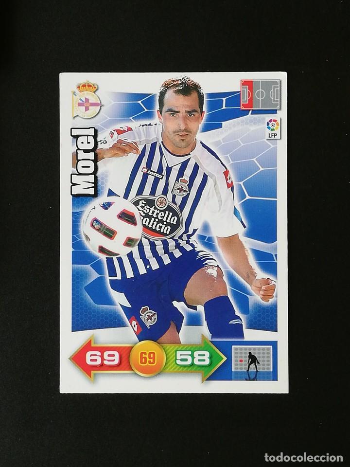DEP MOREL RC DEPORTIVO 2010 2011 ADRENALYN XL 10 11 PANINI (Coleccionismo Deportivo - Álbumes y Cromos de Deportes - Cromos de Fútbol)