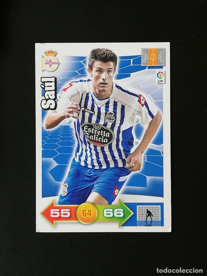 DEP SAUL RC DEPORTIVO 2010 2011 ADRENALYN XL 10 11 PANINI (Coleccionismo Deportivo - Álbumes y Cromos de Deportes - Cromos de Fútbol)