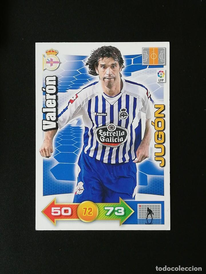 DEP VALERON JUGON RC DEPORTIVO 2010 2011 ADRENALYN XL 10 11 PANINI (Coleccionismo Deportivo - Álbumes y Cromos de Deportes - Cromos de Fútbol)
