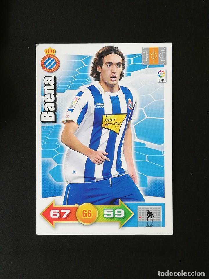 ESP BAENA RCD ESPANYOL 2010 2011 ADRENALYN XL 10 11 PANINI (Coleccionismo Deportivo - Álbumes y Cromos de Deportes - Cromos de Fútbol)