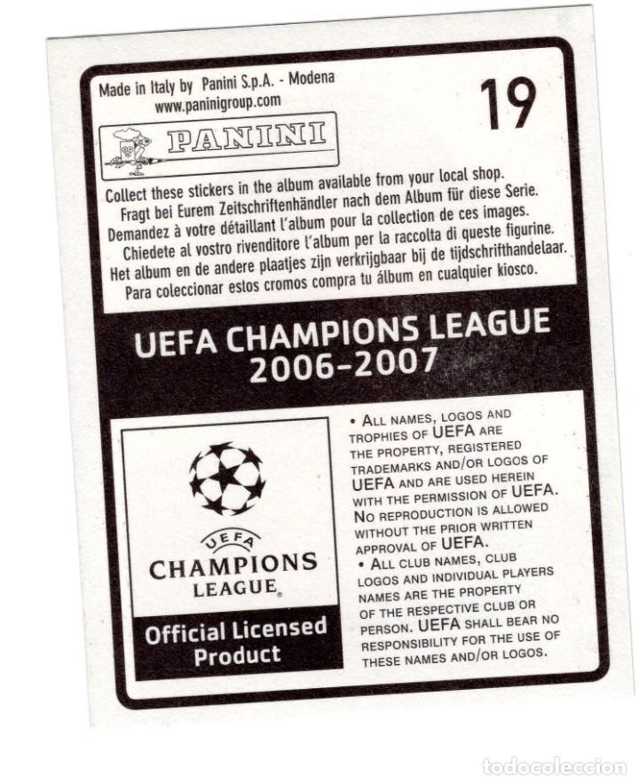 Cromos de Fútbol: Argentina Messi Champion League 2006 2007 Panini Barcelona Cromo 19 Nuevo - Foto 2 - 261151830