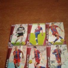 Cromos de Fútbol: FC BARCELONA MUNDICROMO 2011-2012 6 FICHAS. Lote 261224220