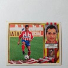 Cromos de Fútbol: CROMO TOMAS - ATLÉTICO DE MADRID. Lote 261554035