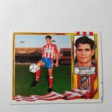 Cromos de Fútbol: CROMO ROBERTO - ATLÉTICO DE MADRID. Lote 261554655