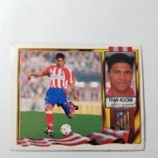 Cromos de Fútbol: CROMO IVAN ROCHA - ATLÉTICO DE MADRID. Lote 261554870