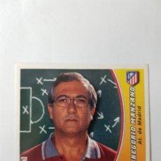 Cromos de Fútbol: CROMO GREGORIO MANZANO - ATLÉTICO DE MADRID. Lote 261555105