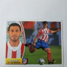Cromos de Fútbol: CROMO NAGORE - ATLÉTICO DE MADRID. Lote 261555500