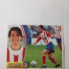 Cromos de Fútbol: CROMO LUÍS GARCÍA - ATLÉTICO DE MADRID. Lote 261555590