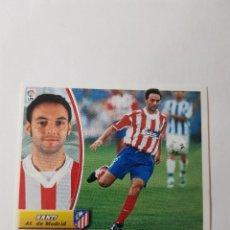 Cromos de Fútbol: CROMO SANTI - ATLÉTICO DE MADRID. Lote 261555905