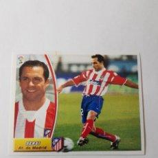 Cromos de Fútbol: CROMO SERGI - ATLÉTICO DE MADRID. Lote 261555940
