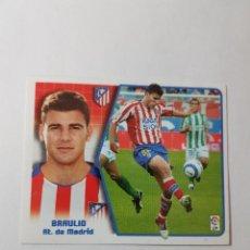 Cromos de Fútbol: CROMO BRAULIO - ATLÉTICO DE MADRID. Lote 261556090