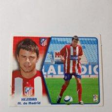 Cromos de Fútbol: CROMO HEZMAN - ATLÉTICO DE MADRID. Lote 261556145