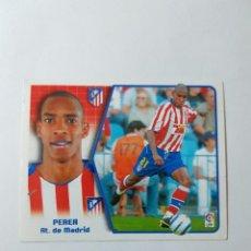 Cromos de Fútbol: CROMO PEREA - ATLÉTICO DE MADRID. Lote 261556175