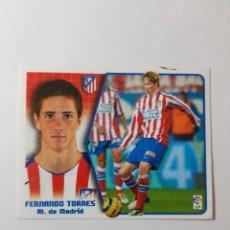 Cromos de Fútbol: CROMO FERNANDO TORRES - ATLÉTICO DE MADRID. Lote 261556205