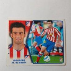 Cromos de Fútbol: CROMO MOLINERO - ATLÉTICO DE MADRID. Lote 261556275