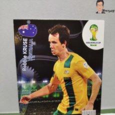 Cromos de Fútbol: ROBBIE KRUSE( AUSTRALIA) ADRENALYN XL 2014 FIFA WORLD CUP MUNDIAL BRASIL CROMO CARD FICHA. Lote 261556855