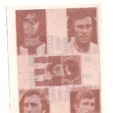 Cromos de Fútbol: 5 DELANTEROS INTERNACIONALES: CROMO DEL ALBUM DE FUTBOL TEMPORADA 1976-77, MATEO MIRETE - NUEVO. Lote 261623175
