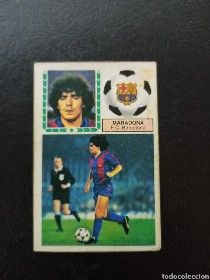 DIEGO ARMANDO MARADONA LIGA 1983 1984 EDICIONES ESTE FC BARCELONA - RECUPERADO (Coleccionismo Deportivo - Álbumes y Cromos de Deportes - Cromos de Fútbol)