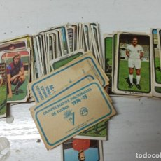 Cromos de Fútbol: CROMOS 74 75 RUIROMER FUTBOL ANTIGUOS. Lote 261795205