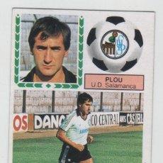 Cromos de Futebol: CROMO FICHAJE 33 EDICIONES ESTE 1983-84 PLOU U.D. SALAMANCA NUEVO DE SOBRE. Lote 262128820