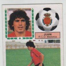 Cromos de Futebol: CROMO FICHAJE 25 EDICIONES ESTE 1983-84 JUANI R.C.D. MALLORCA NUEVO DE SOBRE. Lote 262130590