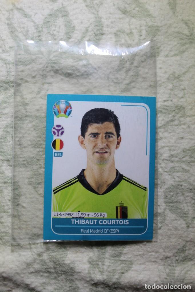 Nº7 THIBAUT COURTOIS BÉLGICA EURO 2020 PREVIEW (Coleccionismo Deportivo - Álbumes y Cromos de Deportes - Cromos de Fútbol)