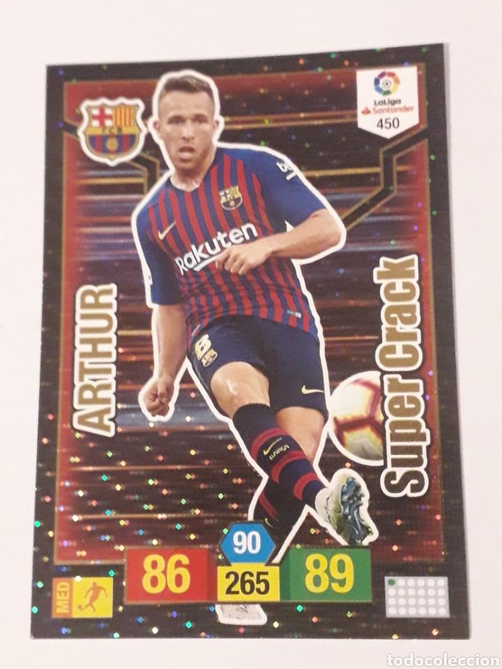 ARTHUR FC BARCELONA 450 ADRENALYN XL 2018 2019 18 19 TRADING CARD GAME LIGA PANINI (Coleccionismo Deportivo - Álbumes y Cromos de Deportes - Cromos de Fútbol)