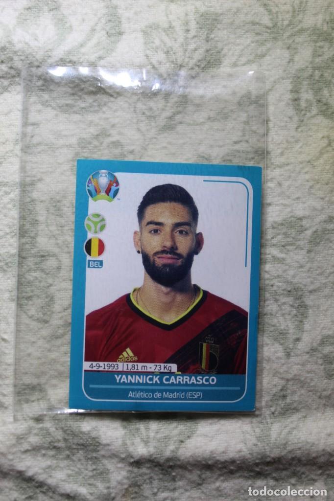 Nº24 YANNICK CARRASCO BÉLGICA EURO 2020 PREVIEW (Coleccionismo Deportivo - Álbumes y Cromos de Deportes - Cromos de Fútbol)