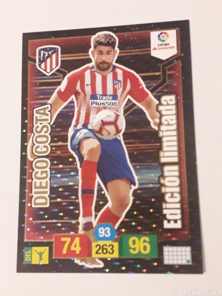 DIEGO COSTA EDICIÓN LIMITADA ADRENALYN XL 2018 2019 18 19 TRADING CARD GAME LIGA PANINI (Coleccionismo Deportivo - Álbumes y Cromos de Deportes - Cromos de Fútbol)