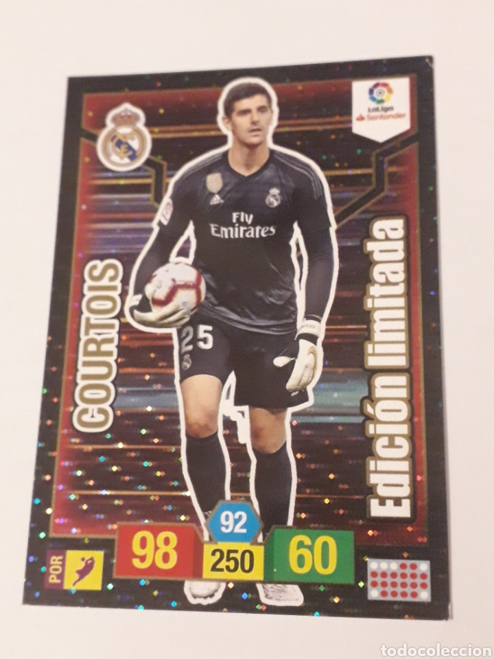 COURTOIS EDICIÓN LIMITADA ADRENALYN XL 2018 2019 18 19 TRADING CARD GAME LIGA PANINI (Coleccionismo Deportivo - Álbumes y Cromos de Deportes - Cromos de Fútbol)