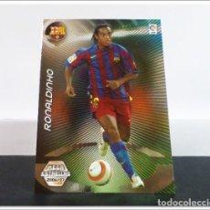 Cromos de Fútbol: MEGACRACKS 2006 2007 06 07 PANINI RONALDINHO 379 MEGA ESTRELLAS (BARCELONA) ALBUM LIGA CARD MGK. Lote 297039913