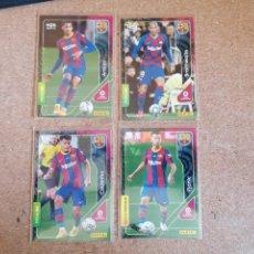 Cromos de Fútbol: PANINI MEGACRACKS 20/21 LOTE DE 4 CARD FC,BARCELONA NUEVOS DE SOBRE. Lote 262372560