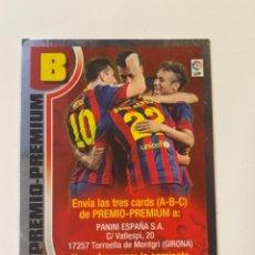 Cromos de Fútbol: CROMO CARDS PREMIO - PREMIUM PANINI MESSI ... (T1) W. Lote 262382755