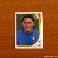 Cromos de Futebol: ITALIA - 470 TOTTI - MUNDIAL KOREA JAPÓN 2002 - EDITORIAL PANINI - NUNCA PEGADO. Lote 262437110
