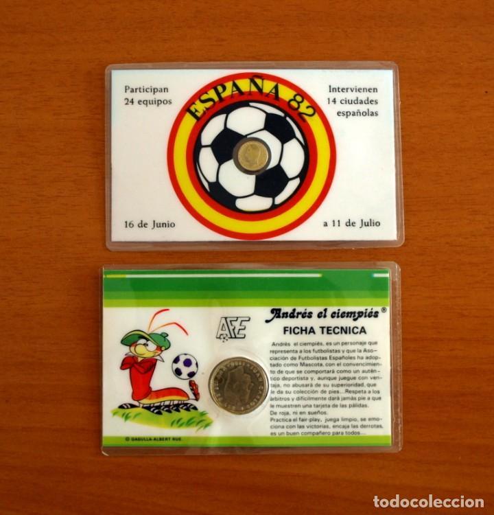 Cromos de Fútbol: Selección Nacional 1982, España 82 - Nº 29, Sempere y Campo del Valencia - 2 Tarjetas, tamaño 11x7 - Foto 2 - 262444230