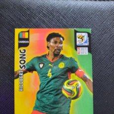 Cromos de Fútbol: SONG CAMERUN ADRENALYN SOUTH AFRICA MUNDIAL SUDAFRICA 2010 CROMO FUTBOL 10 - A36 - PG19. Lote 262574245