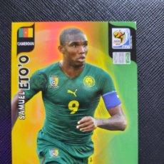 Cromos de Fútbol: ETOO CAMERUN ADRENALYN SOUTH AFRICA MUNDIAL SUDAFRICA 2010 CROMO FUTBOL 10 - A36 - PG19. Lote 262574365
