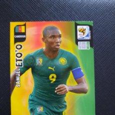 Cromos de Fútbol: ETOO CAMERUN ADRENALYN SOUTH AFRICA MUNDIAL SUDAFRICA 2010 CROMO FUTBOL 10 - A36 - PG19 B. Lote 262574410