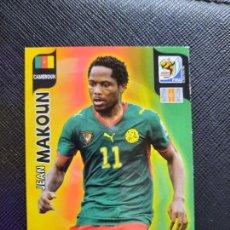 Cromos de Fútbol: MAKOUN CAMERUN ADRENALYN SOUTH AFRICA MUNDIAL SUDAFRICA 2010 CROMO FUTBOL 10 - A36 - PG19. Lote 262574780