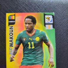 Cromos de Fútbol: MAKOUN CAMERUN ADRENALYN SOUTH AFRICA MUNDIAL SUDAFRICA 2010 CROMO FUTBOL 10 - A36 - PG19 B. Lote 262574835