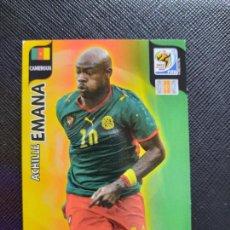 Cromos de Fútbol: EMANA CAMERUN ADRENALYN SOUTH AFRICA MUNDIAL SUDAFRICA 2010 CROMO FUTBOL 10 - A36 - PG28. Lote 262575120