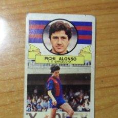 Cromos de Fútbol: PICHI ALONSO ALBUM ESTE LIGA 1985- 1986 ( 85 - 86 ) CARTON. Lote 262614685