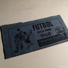 Cromos de Fútbol: SOBRE ABIERTO Y VACIO FUTBOL COPA DE EUROPA 1960 RUIZ ROMERO. Lote 262653850