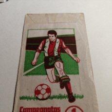 Cromos de Fútbol: SOBRE ABIERRO Y VACIO CAMPEINATOS NACIONALES DE FUTBOL 1974 RUIZ ROMERO.. Lote 262654095