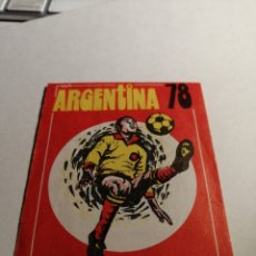 Cromos de Fútbol: SOBRE ABIERTO CON TRES CROMOS EN SU INTERIOR ARGENTINA 78 ED.FHER. Lote 262654210