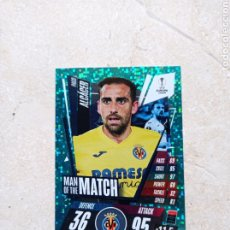 Cromos de Fútbol: PACO ALCACER MAN ON THE MATCH CHAMPIONS LEAGUE EXTRA 2020/21 DE TOPPS. Lote 262718785