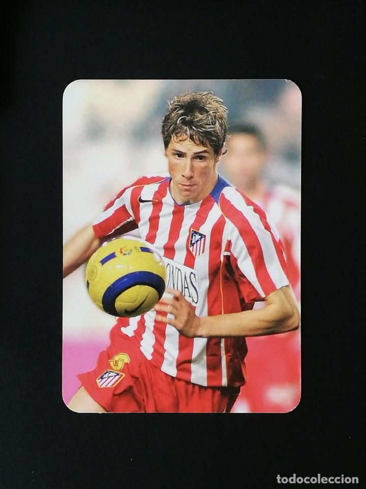 #397 FERNANDO TORRES ATLETICO DE MADRID EL MEJOR MUNDICROMO 2005 2006 LIGA 05 06 (Coleccionismo Deportivo - Álbumes y Cromos de Deportes - Cromos de Fútbol)