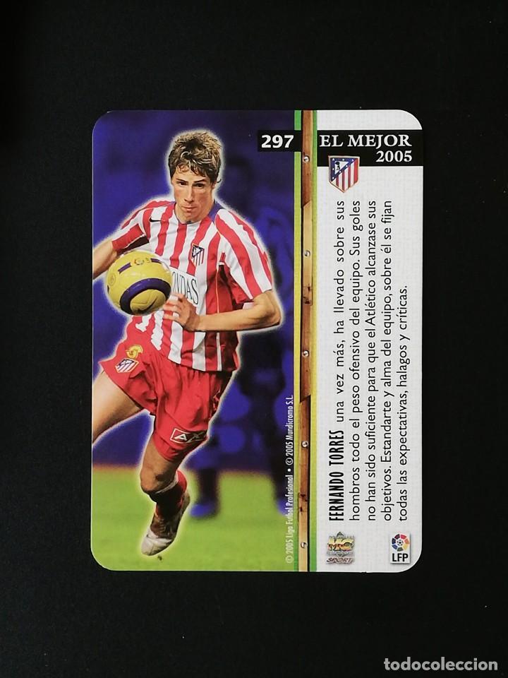 Cromos de Fútbol: #397 FERNANDO TORRES ATLETICO DE MADRID EL MEJOR MUNDICROMO 2005 2006 LIGA 05 06 - Foto 2 - 262821855