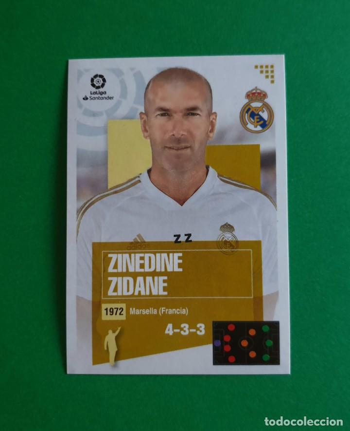1 ZINEDINE ZIDANE (250 EDICIÓN BRASIL) - REAL MADRID - EDICIONES ESTE 20/21 (NUEVO) (Coleccionismo Deportivo - Álbumes y Cromos de Deportes - Cromos de Fútbol)