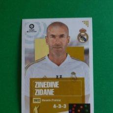 Cromos de Fútbol: 1 ZINEDINE ZIDANE (250 EDICIÓN BRASIL) - REAL MADRID - EDICIONES ESTE 20/21 (NUEVO). Lote 262821875